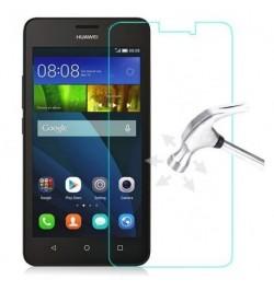 Apsauginis grūdintas stiklas Huawei Ascend Y635 telefonui