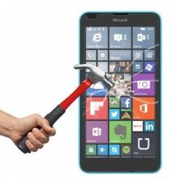 Apsauginis grūdintas stiklas Nokia - Microsoft Lumia 640 telefonui