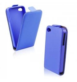 """Mėlynos spalvos atverčiamas dėklas LG F70 (D315) telefonui """"Telone Vertical Pocket"""""""
