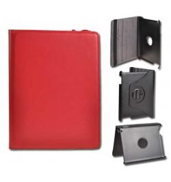 """Atverciamas raudonas deklas Samsung Galaxy 10,1 Tab 2 plansetei """"Rotated Book"""""""