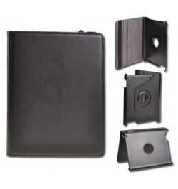 """Atverčiamas juodas dėklas Samsung Galaxy 10,1 Tab 3 planšetei """"Rotated Book"""""""