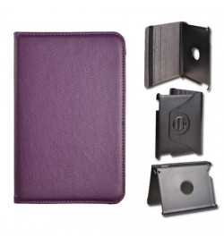 """Atverciamas violetinis deklas Samsung Galaxy 7,0 Tab 2 plansetei """"Rotated Book"""""""