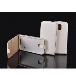 """Atverčiamas baltas dėklas Samsung Galaxy S5 telefonui """"Telone Vertical"""""""