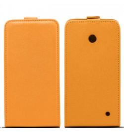 """Atverčiamas oranžinis dėklas LG Joy telefonui """"Telone Vertical"""""""