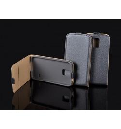 """Atverčiamas pilkas dėklas LG Joy telefonui """"Telone Vertical"""""""