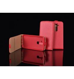 """Atverčiamas raudonas dėklas LG Joy telefonui """"Telone Vertical"""""""