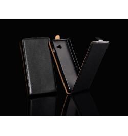 """Atverčiamas juodas dėklas Huawei Honor 7 telefonui """"Telone Vertical"""""""