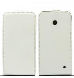"""Atverčiamas baltas dėklas HTC One M9 telefonui """"Telone Vertical"""""""