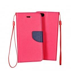 """Atverčiamas rožinis/mėlynas dėklas Samsung Galaxy Core Prime telefonui """"Telone Fancy"""""""