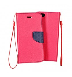 """Atverčiamas rožinis/mėlynas dėklas LG G4 Stylus telefonui """"Telone Fancy"""""""