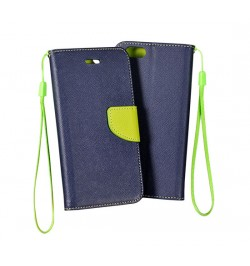 """Atverčiamas mėlynas/geltonas dėklas HTC One M9 telefonui """"Telone Fancy"""""""