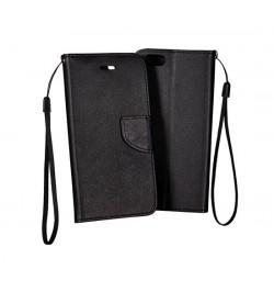 """Atverčiamas juodas dėklas HTC One M9 telefonui """"Telone Fancy"""""""