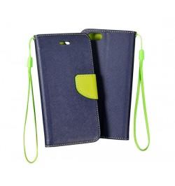 """Atverčiamas mėlynas/geltonas dėklas HTC Desire 620 telefonui """"Telone Fancy"""""""