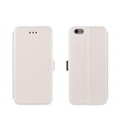 """Atverčiamas baltas dėklas Samsung Galaxy Note 4 telefonui """"Telone Book Pocket"""""""
