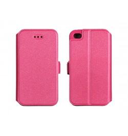 """Atverčiamas rožinis dėklas Samsung Galaxy A3 telefonui """"Telone Book Pocket"""""""