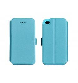 """Atverčiamas mėlynas dėklas LG G4 Stylus telefonui """"Telone Book Pocket"""""""