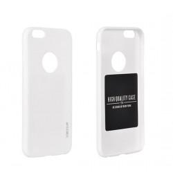 """Itin plonas 0,3mm silikoninis baltas dėklas Sony Xperia M2 telefonui """"Jelly"""""""