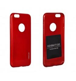 """Itin plonas 0,3mm silikoninis raudonas dėklas LG G3 telefonui """"Jelly"""""""