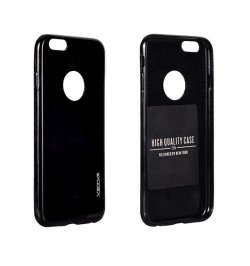 """Itin plonas 0,3mm silikoninis juodas dėklas Sony Xperia E4G telefonui """"Candy"""""""