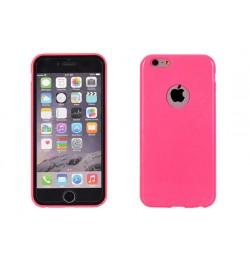 """Itin plonas 0,3mm silikoninis rožinis dėklas LG G3 telefonui """"Candy"""""""