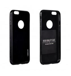 """Itin plonas 0,3mm silikoninis juodas dėklas Huawei Ascend Y6 telefonui """"Candy"""""""