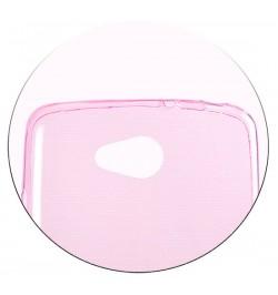 Rožinis itin plonas 0,3mm dėklas LG L90 telefonui