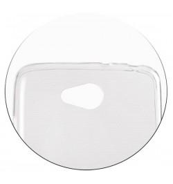 Skaidrus itin plonas 0,3mm dėklas LG G3 Mini telefonui