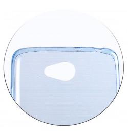 Mėlynas itin plonas 0,3mm dėklas iPhone 4 telefonui