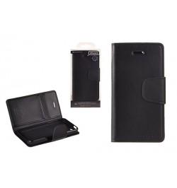 """Atverčiamas juodas dėklas Samsung Galaxy S6 telefonui """"Sonata Diary"""""""