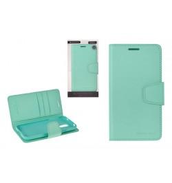 """Atverčiamas mėtinis dėklas Samsung Galaxy A3 telefonui """"Sonata Diary"""""""