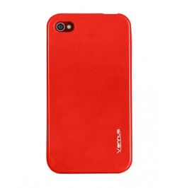 """Silikoninis raudonas dėklas Samsung Galaxy S5 Mini telefonui """"Jelly case Vennus"""""""