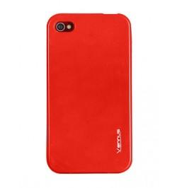 """Silikoninis raudonas dėklas Lumia 520 telefonui """"Jelly case Vennus"""""""
