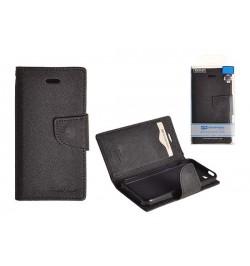 """Atverčiamas juodas dėklas LG G2 MINI (D620) telefonui """"Mercury Fancy Diary"""""""