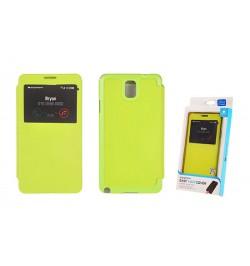 """Atverčiamas žalias dėklas Samsung Galaxy Note 3 telefonui """"Mercury Easy View"""""""