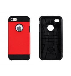 """Plastikinis raudonas dėklas HTC One M8 telefonui """"Vennus tough armor matt"""""""