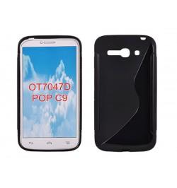 """Silikoninis juodas dėklas HUAWEI P8 LITE telefonui """"S-case"""""""