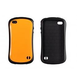 """Plastikinis oranžinis dėklas iPhone 4 telefonui """"Vennus Face case"""""""