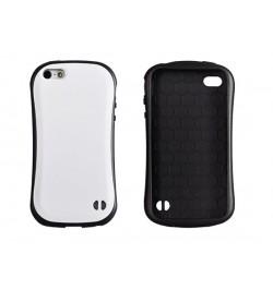 """Plastikinis baltas dėklas iPhone 5 telefonui """"Vennus Face case"""""""