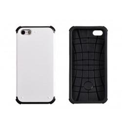 """Plastikinis baltos spalvos dėklas iPhone 5 telefonui """"Vennus Double Armor"""""""