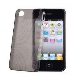 """Itin plonas juodas dėklas iPhone 4 telefonui """"Vennus Ultra Slim"""""""