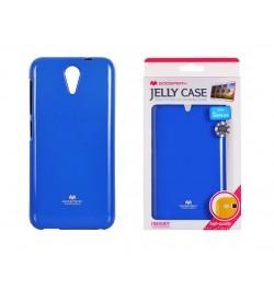 "Mėlynas silikoninis dėklas Samsung Galaxy A8 telefonui ""Jelly Case"""