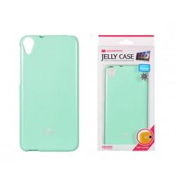 """Mėtinis silikoninis dėklas HTC One M9 telefonui """"Jelly Case"""""""