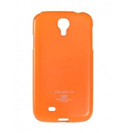 """Oranžinis silikoninis dėklas Samsung Galaxy S4 telefonui """"Jelly Fluorescent"""""""