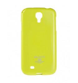 """Žalias silikoninis dėklas Samsung Galaxy S4 telefonui """"Jelly Fluorescent"""""""