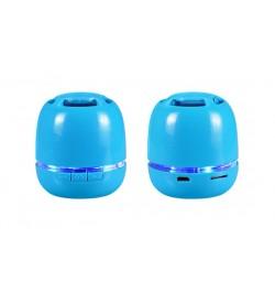 Maža Bluetooth mėlyna garso kolonelė