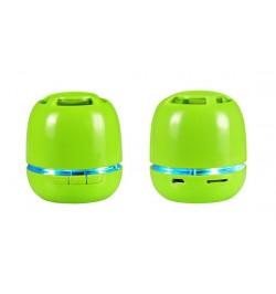 Maža Bluetooth žalia garso kolonelė