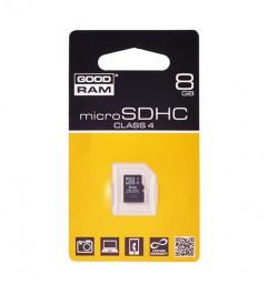 MicroSD atminties kortelė 8GB GoodRam