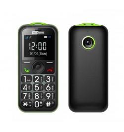 Mobilusis pilkas telefonas MAXCOM MM 560 BB