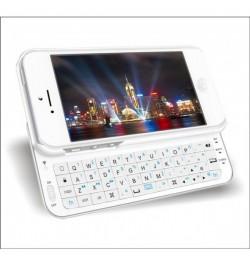 Bluetooth klaviatūra iPhone 5 balta