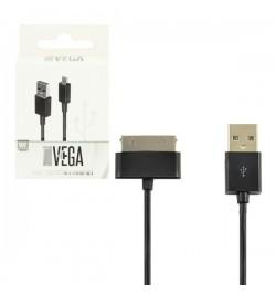 Samsung galaxy TAB USB kabelis VEGA juodas